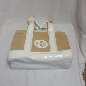 Authentic Tory Burch Straw Beach Tote